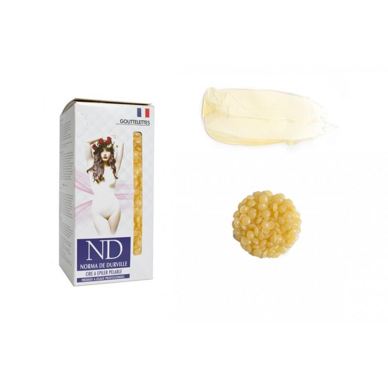 Cire épilation pelable Naturelle Norma de Durville gouttelettes 800 grs