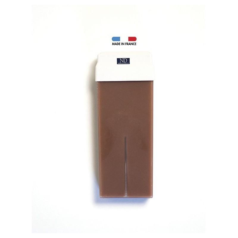 Cire épilation traditionnelle chocolat sans colophane Norma de Durville cartouche 100 grs
