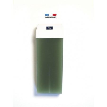 Cire épilation traditionnelle verte azulène Norma de Durville cartouche 100 grs