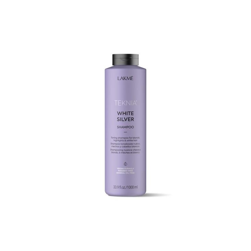 Teknia shampoing White Silver Lakmé 1000 ml