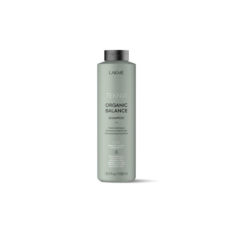 Teknia shampoing Organic Balance Lakmé 1000 ml