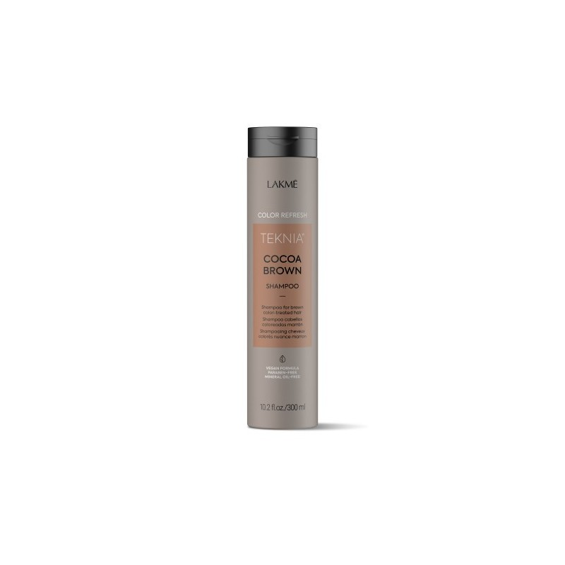 Teknia shampoing Refresh Cocoa Brown Lakmé 300 ml