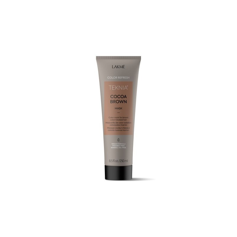 Teknia masque Refresh Cocoa Brown Lakmé 250 ml