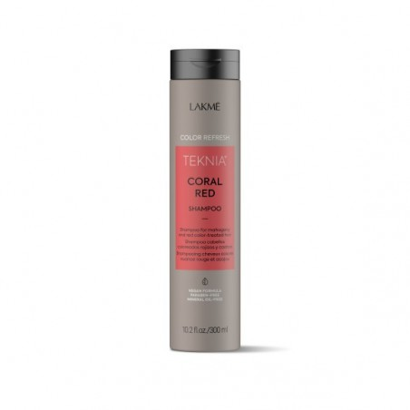 Teknia shampoing Refresh Red Coral Lakmé 300 ml