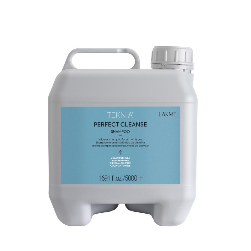 Teknia shampoing Perfect Cleanse Lakmé 5000 ml
