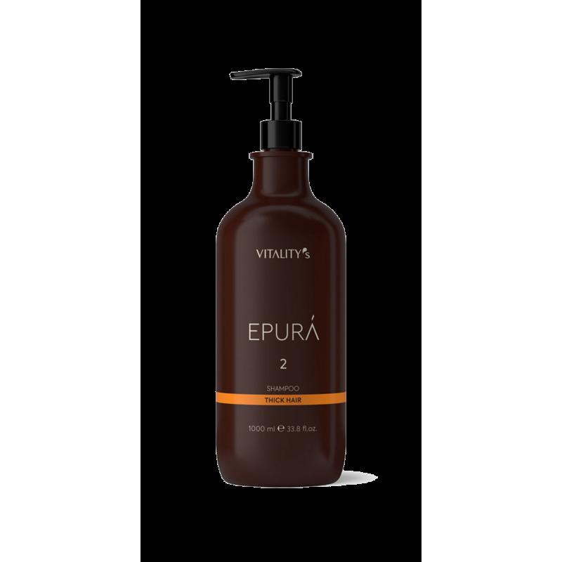 Epura shampoing Vitality's 1000 ml cheveux epais
