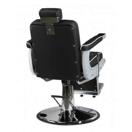 fauteuil barbier karl meilleur qualité prix vue dos arriere