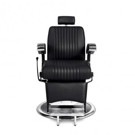 fauteuil barbier confortable pas cher hugo B face