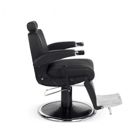 fauteuil barbier confortable pas cher hugo B profil