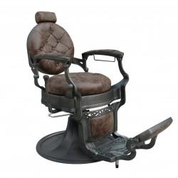 fauteuil barbier retro  confortable clint face