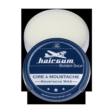 Cire à moustache Hairgum 80 g ouvert