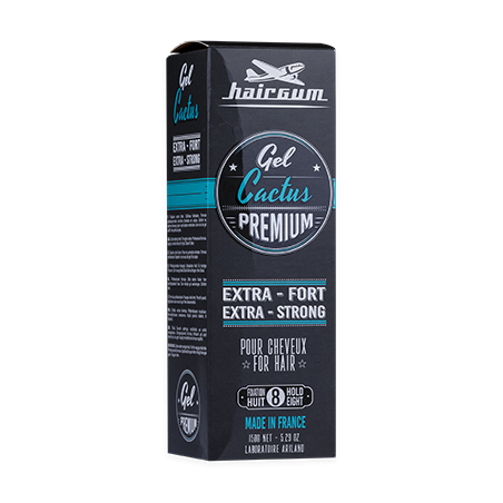 Gel premium Cactus Hairgum 150 g packaging