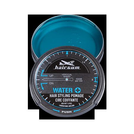 Cire coiffante techniques Water+ Hairgum 40 g ouvert