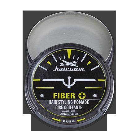 Cire coiffante techniques Fiber+ Hairgum 40 g ouvert