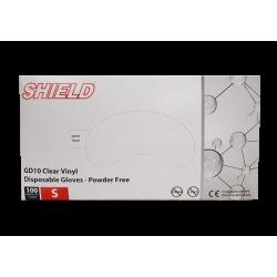 Gants de protection vinyl x100 Taille S