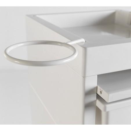 Table de service Discrete Sibel detail anneau