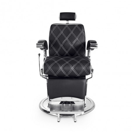 fauteuil barbier confortable pas cher hugo face