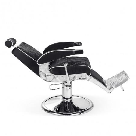 fauteuil barbier confortable pas cher hugo allongé