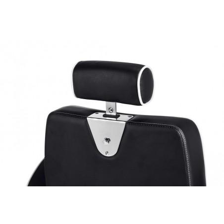 fauteuil barbier confortable pas cher hugo detail repose tete