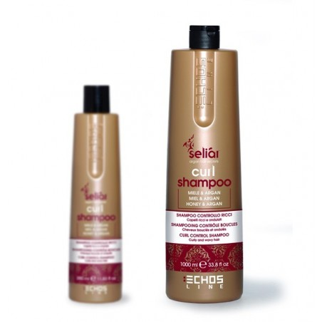 shampoing 1000 ml seliar echosline curl