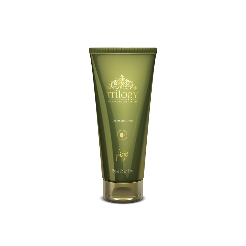 Vitality's shampoing crème TRILOGY 250 ml vue de face