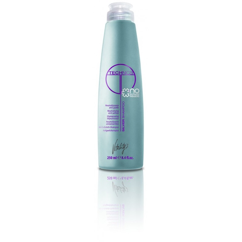 Vitality's shampoing Silver Technica 250 ml