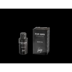 Flacon et boite Vitality's For Man Beard Oil 30 ml