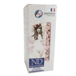 Cire épilation recyclable rose Norma de Durville gouttelettes 800 grs